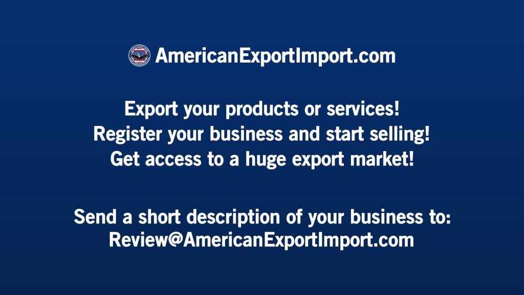 AmericanExportImport.com American Export Import Register Your Business to Export List